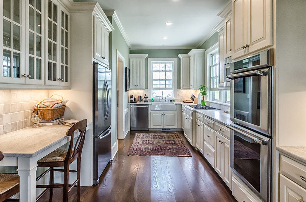 Custom Kitchen Galley Kitchen Renovation | Salisbury Country Homes, LLC