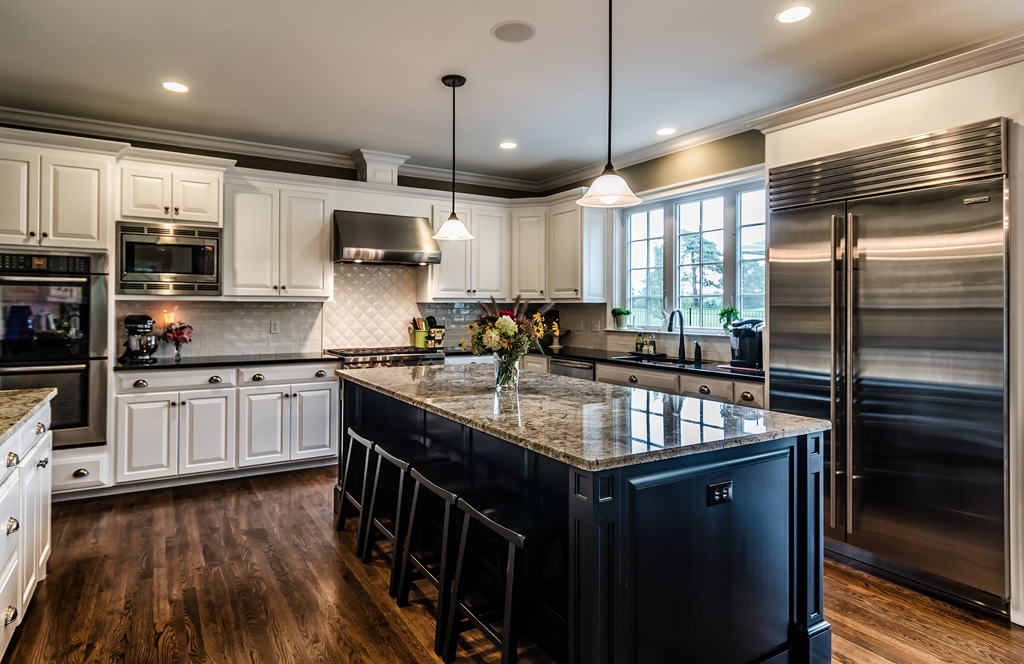 Kitchen Design Executed by Salisbury Country Homes
